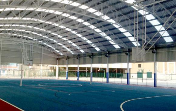 Cubrición Pista Deportiva Salesianos